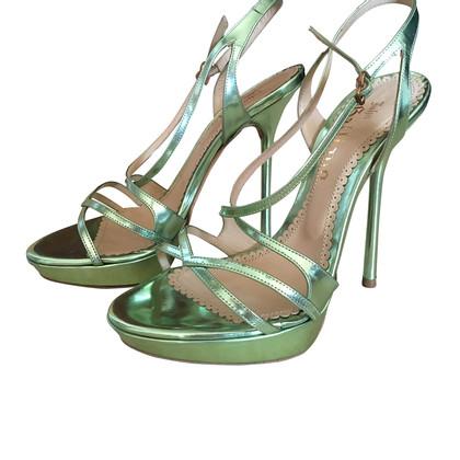 John Galliano Platform of high heels