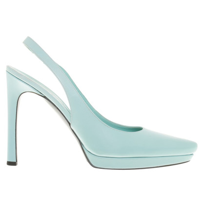Jil Sander pumps in turquoise