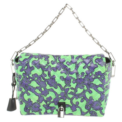 Marc Jacobs Handbag in Green / Purple