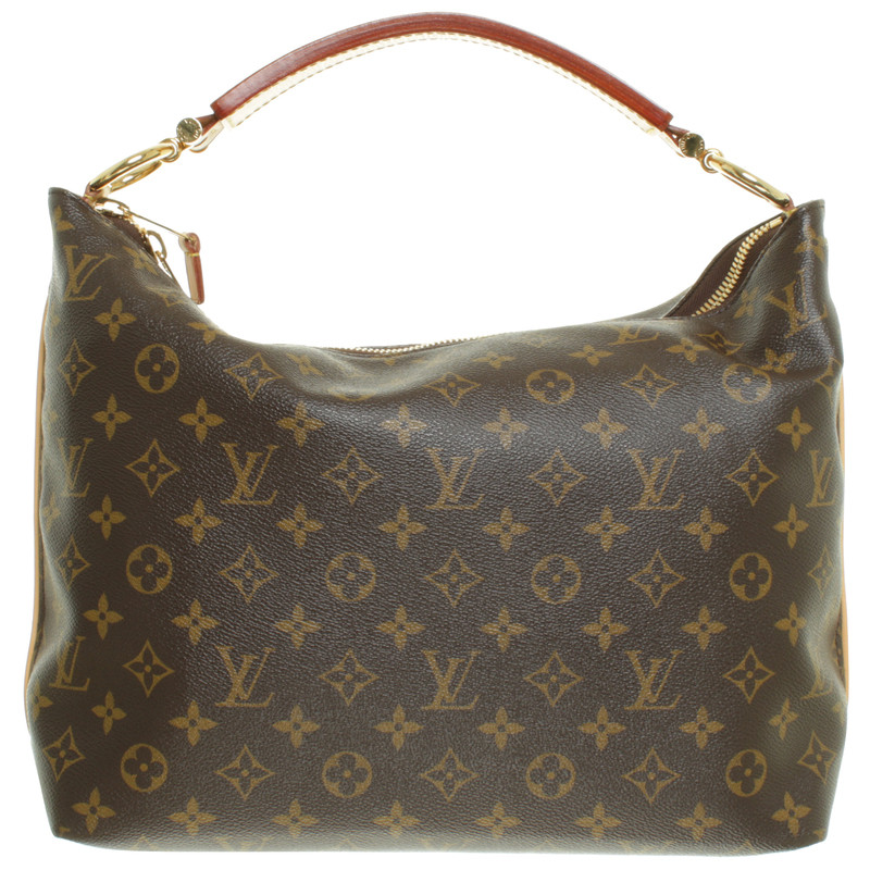 louis vuitton schultertasche sully monogram canvas second hand louis vuitton schultertasche. Black Bedroom Furniture Sets. Home Design Ideas