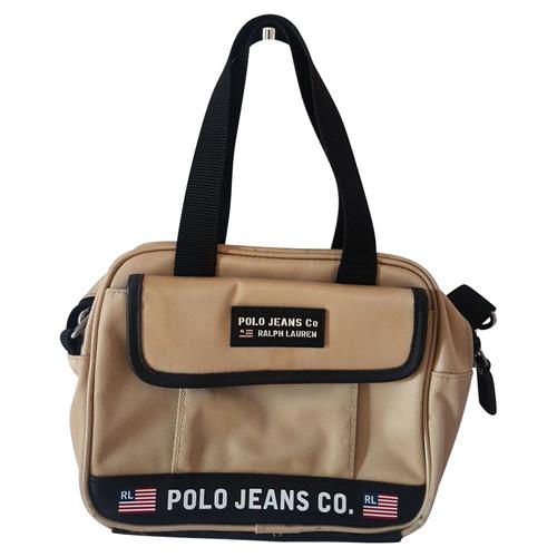 1a761fc2a5 Polo Ralph Lauren Handbag in Gold - Second Hand Polo Ralph Lauren ...