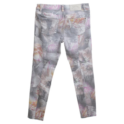 Marc Cain trousers with a floral pattern