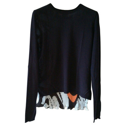 Christian Dior sweater with silk back