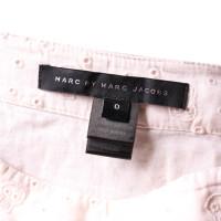 Marc by Marc Jacobs Rok met gatenborduurwerk