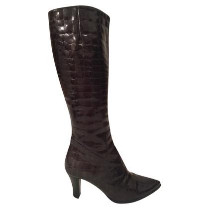 Balenciaga bottes noires