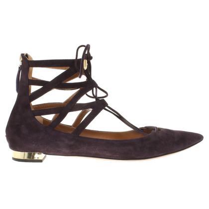 Aquazzura Suede sandals