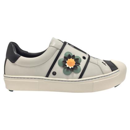 Fendi scarpe da ginnastica bianche