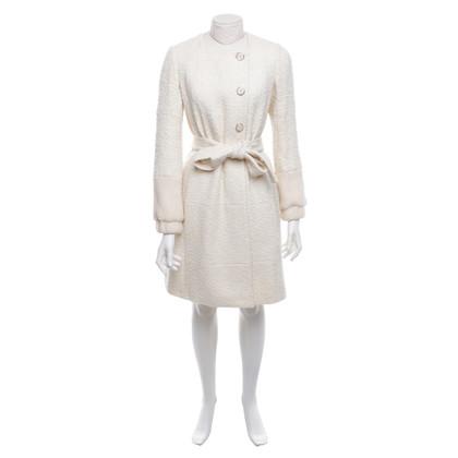 Chloé Wool coat in cream white