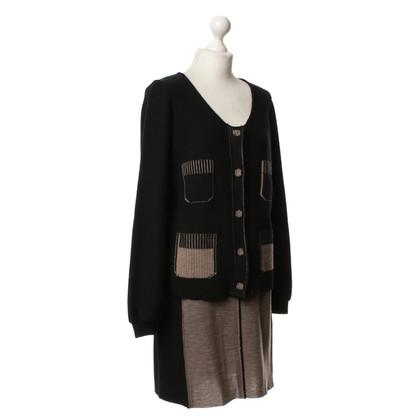 Sonia Rykiel Costume from knitting