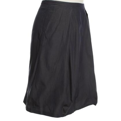 René Lezard skirt silk / cotton