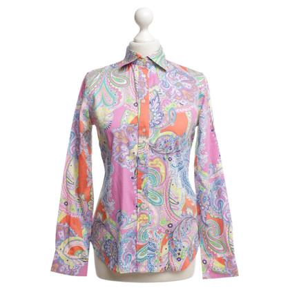 Ralph Lauren Blouse with paisley pattern