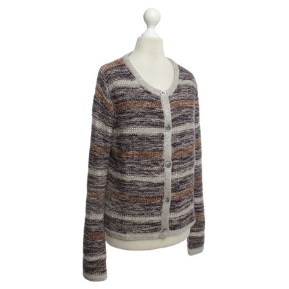 FTC Cashmere Cardigan with stripes