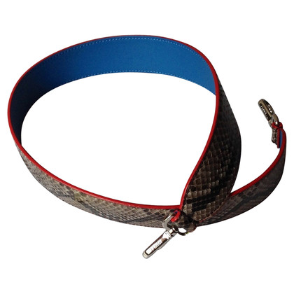 Fendi Belt with python leather