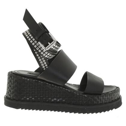 Pinko Sandals in black