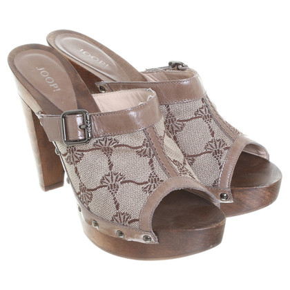 JOOP! Mules with pattern