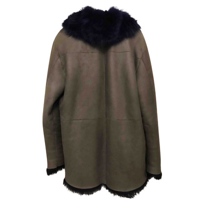 Costume National Lammfelljacke