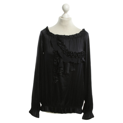 Patrizia Pepe Blouse in donkerblauw