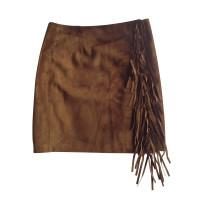 Ralph Lauren Suede leather skirt
