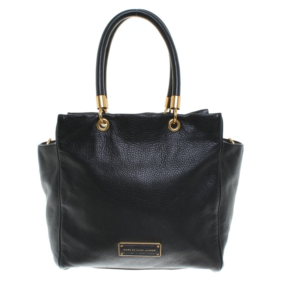 marc by marc jacobs handtasche in schwarz second hand. Black Bedroom Furniture Sets. Home Design Ideas