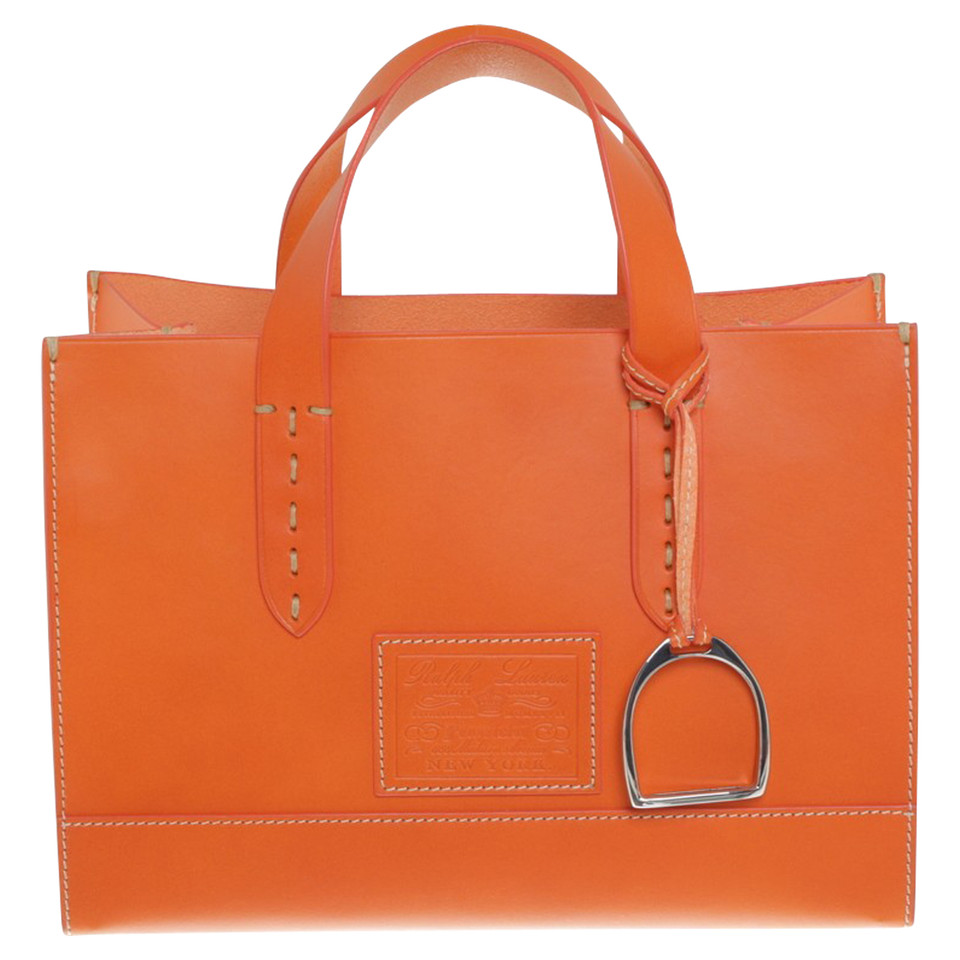 ralph lauren handtasche in orange second hand ralph lauren handtasche in orange gebraucht. Black Bedroom Furniture Sets. Home Design Ideas