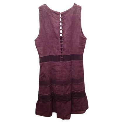 Ermanno Scervino Linen dress in violet