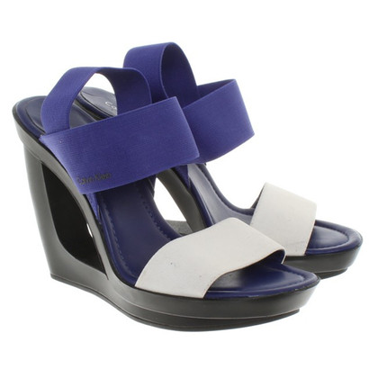 Calvin Klein Sandals with wedge heel