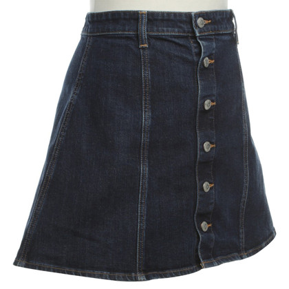 Adriano Goldschmied Denim skirt with buttons