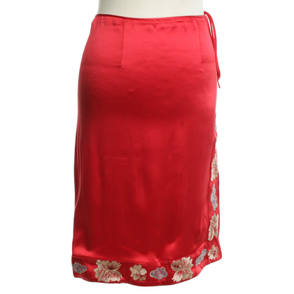 Blumarine skirt in red