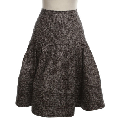 Oscar de la Renta Wide swinging skirt