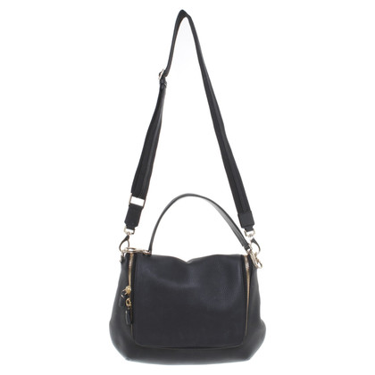 Anya Hindmarch Borsa a tracolla in pelle nera