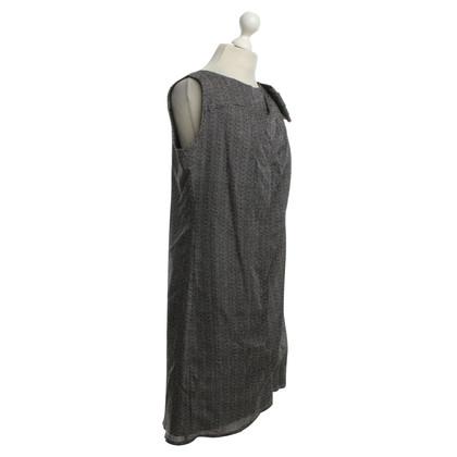 Odeeh Dress in black / white