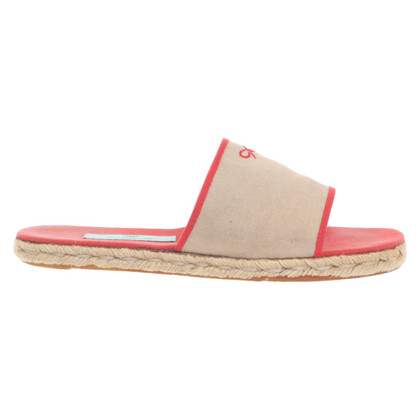 Anya Hindmarch Sandals in beige / red