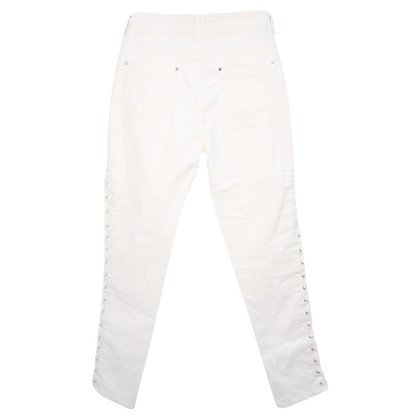 Karen Millen trousers in white