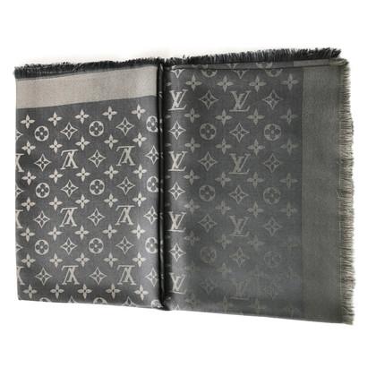 Louis Vuitton Monogram-shine cloth in anthracite