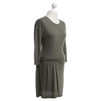 Isabel Marant Etoile Gebreide jurk in kaki