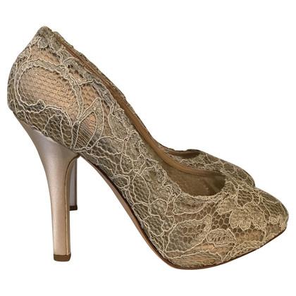 Dolce & Gabbana Pumps with lace trim