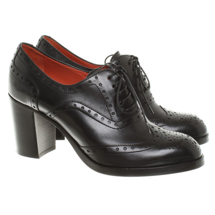 Santoni Pumps in Schwarz