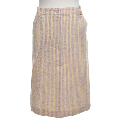 Bogner skirt with stripe pattern