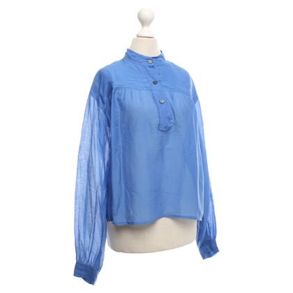 Isabel Marant Etoile Blusen-Shirt in Blau