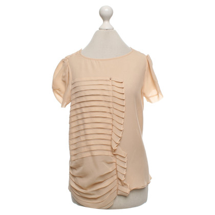 Sport Max Silk blouse in Nude