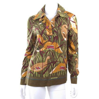 Hermès Shirt in kasjmier/zijde