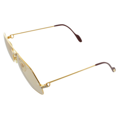 Cartier Gold sunglasses