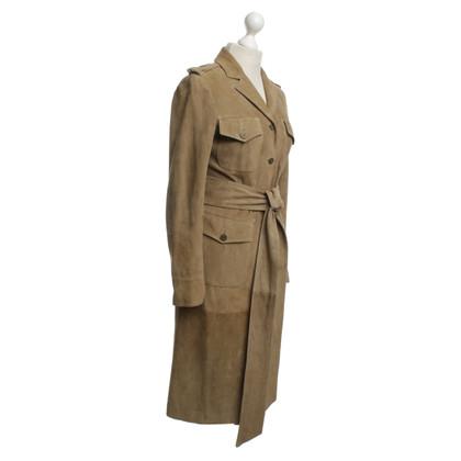 Valentino Leather jacket in beige