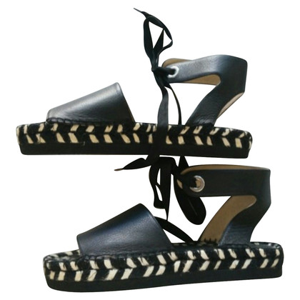 Paloma Barcelo Sandals in zwart