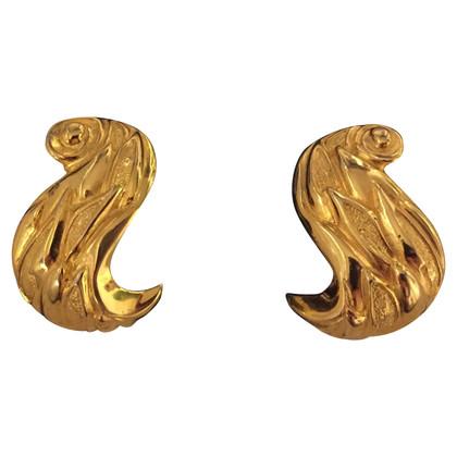 Fendi Gilded earrings