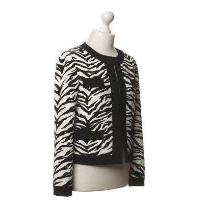 Moschino Blazer in een zebra-look