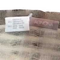 Agnona Sjaal gemaakt van cashmere / zijde