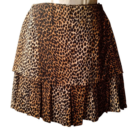 D&G skirt with animal print
