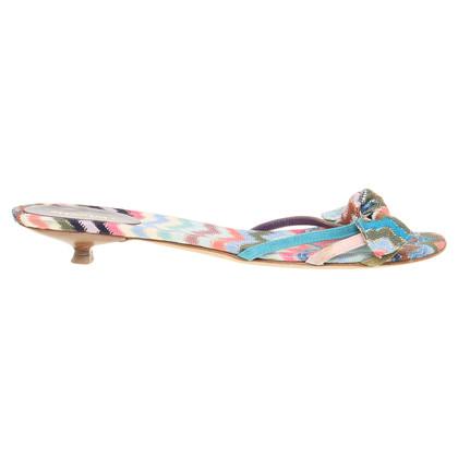 Missoni Sandaletten mit Muster