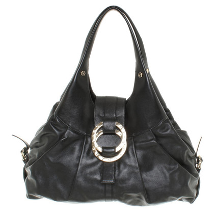 Bulgari Handbag in black